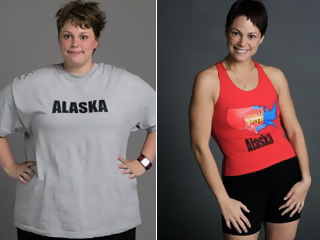 "Kai Hibbard, before and after her stint on ""The Biggest Loser"""