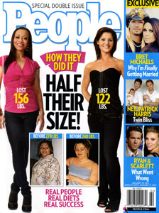 "People magazine's annual ""Half Their Size"" issue"